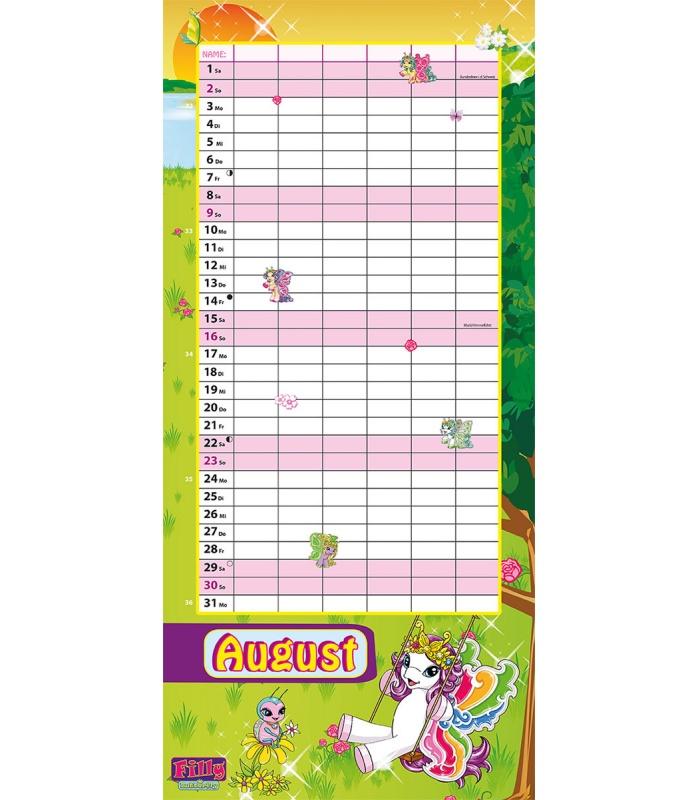 Family Calendar 2015 : Wall calendar filly family
