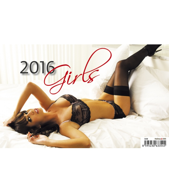 Table Calendar 2016 : Table calendar girls Čr sr