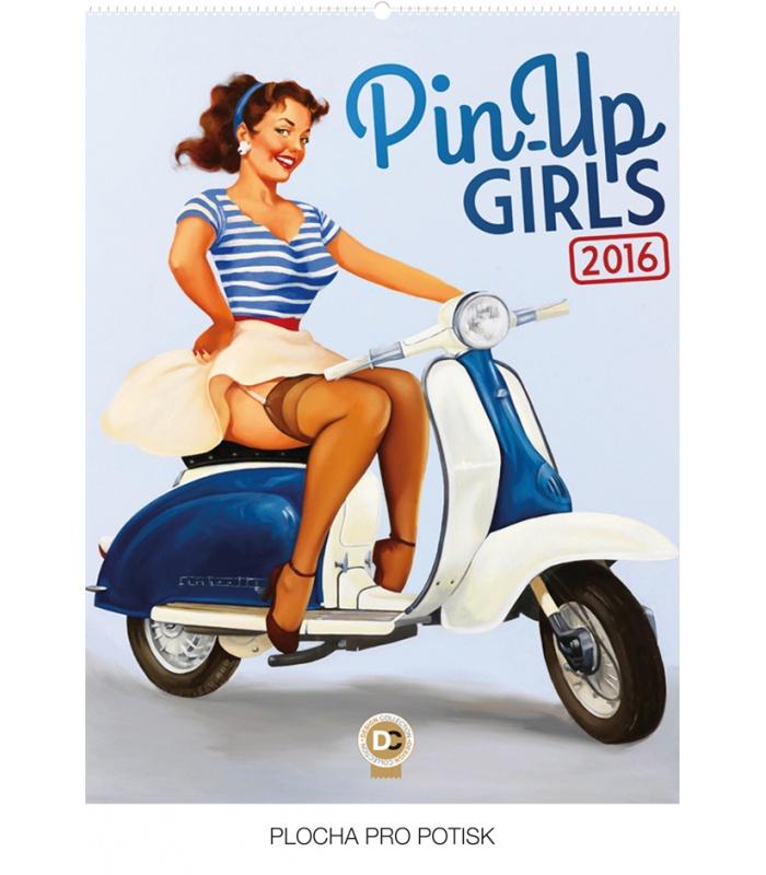 wall calendar pin up girls fiona stephenson 2016