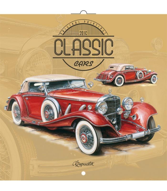wall calendar classic cars vaclav zapadlik 2016