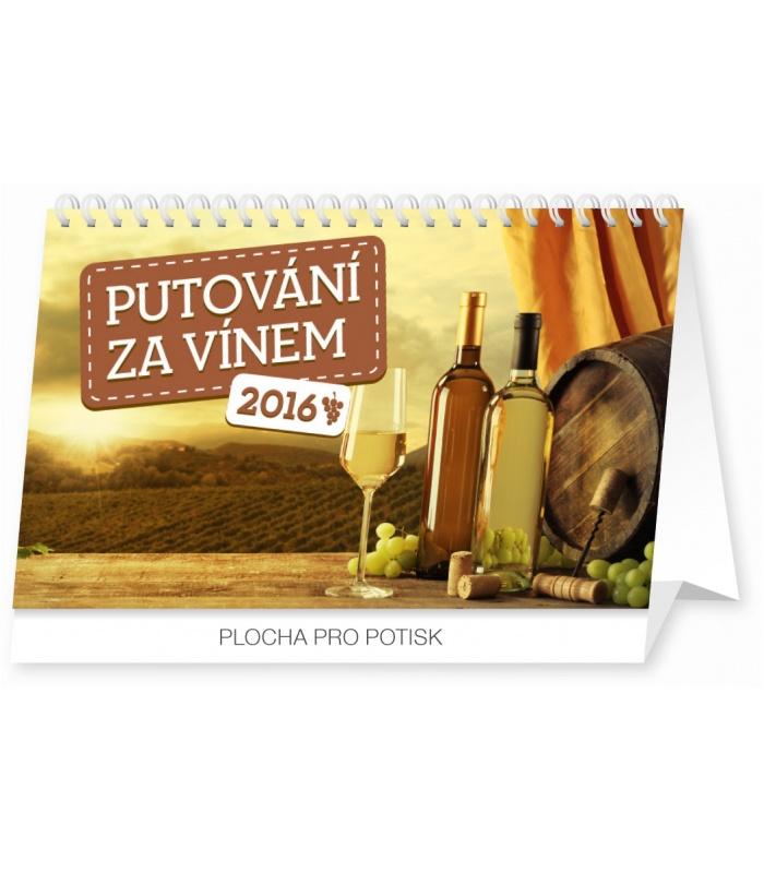 Calendar Za : Table calendar putování za vínem