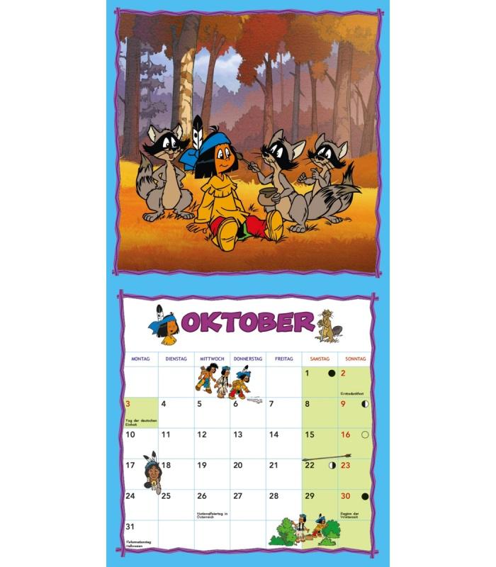 Wandkalender yakari 2016 wandkalender yakari 2016 for Kinderzimmer yakari