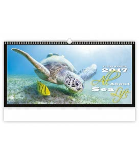 Wall calendar All About Sea Life 2017