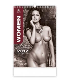 Wall calendar Women Exclusive 2017