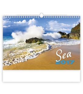 Wall calendar Sea 2017