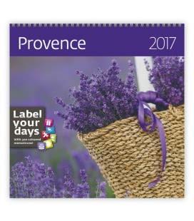 Wall calendar Provence 2017