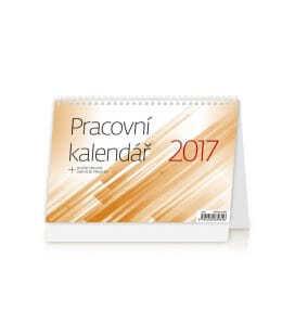 Table calendar Pracovní kalendář 2017