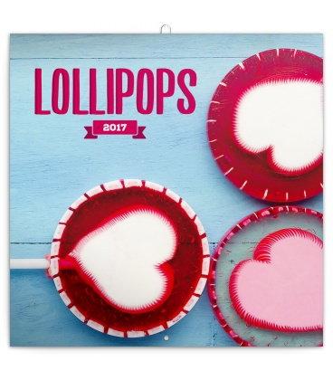 Wall calendar Lollipops 2017
