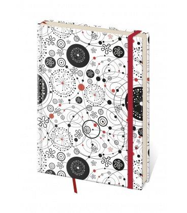 Notes - Zápisník Vario design 9 - linkovaný M 2018