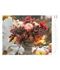 Nástěnný kalendář Kouzlo květin / Blumenzauber 2018