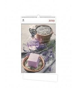 Nástěnný kalendář Provance 2019