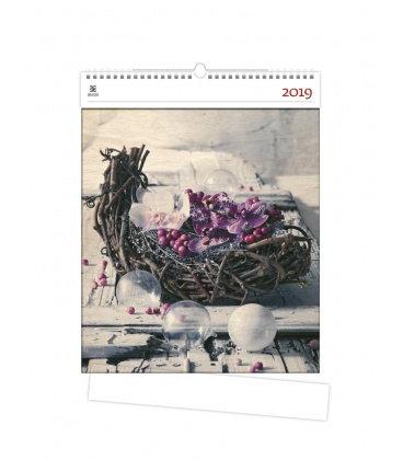 Nástěnný kalendář Design 2019