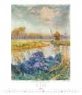 Nástěnný kalendář Impressionism 2019