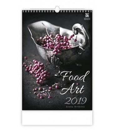 Wall calendar Food Art 2019