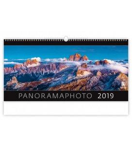 Nástěnný kalendář Panoramaphoto 2019