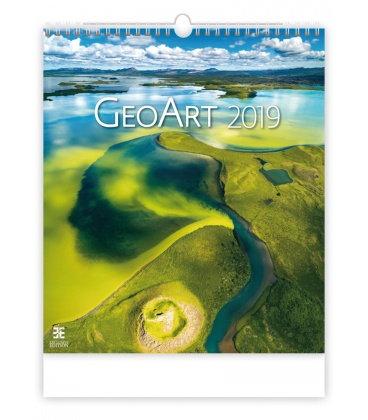 Wall calendar Geo Art 2019