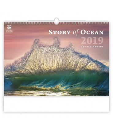 Nástěnný kalendář Story of Ocean 2019
