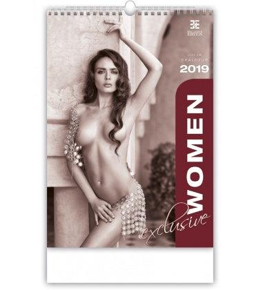 Nástěnný kalendář Women Exclusive 2019