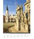 Nástěnný kalendář Česká republika/Czech Republic/Tschechische Republik 2019