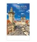 Wall calendar Praha/Prague/Prag 2019