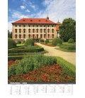 Nástěnný kalendář Naše hrady a zámky 2019