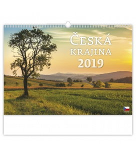 Wandkalender Česká krajina 2019