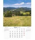 Nástěnný kalendář České hory 2019