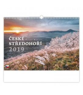 Nástěnný kalendář České středohoří 2019