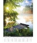 Nástěnný kalendář Řeka čaruje 2019