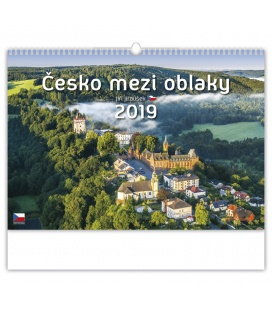 Wandkalender Česko mezi oblaky 2019