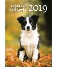 Wall calendar Pejskové/Psíčkovia 2019