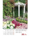 Nástěnný kalendář Květiny/Kvetiny 2019