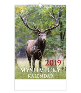 Wall calendar Myslivecký kalendář 2019