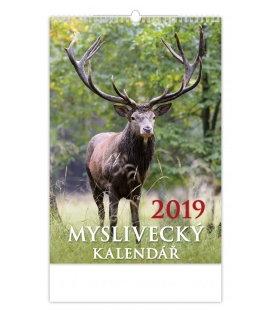 Wandkalender Myslivecký kalendář 2019