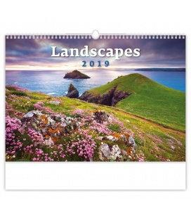Wall calendar Landscapes 2019