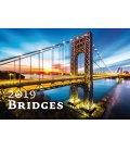 Wall calendar Bridges 2019