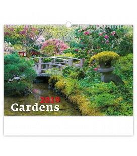 Wandkalender Gardens 2019