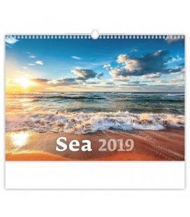 Nástěnný kalendář Sea 2019