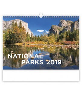 Wall calendar National Parks 2019