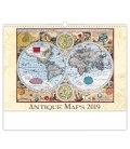 Nástěnný kalendář Antique Maps 2019