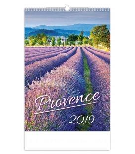 Wandkalender Provence 2019