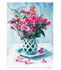 Nástěnný kalendář Magic Flowers/Magische Blumen/Živé květy/Živé kvety 2019