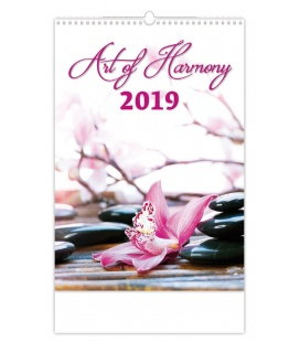Wall calendar Art of Harmony 2019