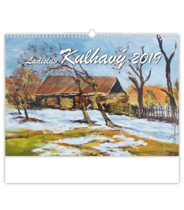 Nástěnný kalendář Laslav Kulhavý 2019