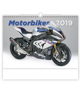Nástěnný kalendář Motorbikes 2019