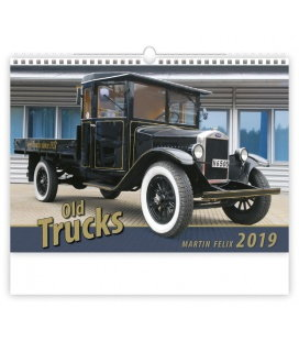 Wall calendar Old Trucks 2019