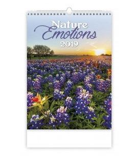 Nástěnný kalendář Nature Emotions 2019