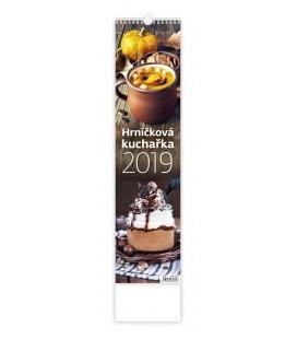 Nástěnný kalendář Hrníčková kuchařka - vázanka 2019
