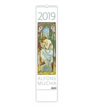 Wall calendar Alfons Mucha - vázanka 2019