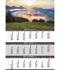 Nástěnný kalendář Hory - 3měsíční/Hory - 3mesačné 2019